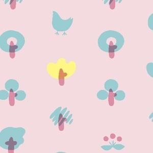 森でおさんぽ(ピンク)