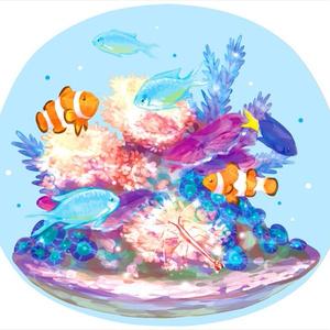 小さな海 アクリルフィギュア