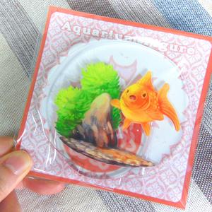 まんまる金魚 アクリルフィギュア