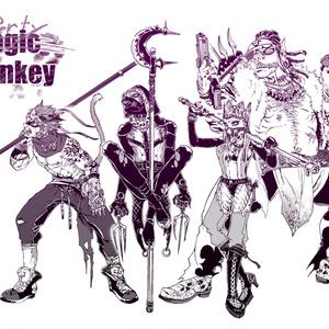 Dirty Monkey ポストカード
