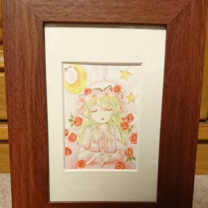 【手描きイラスト】眠り姫