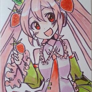 【原画】苺ミクさん