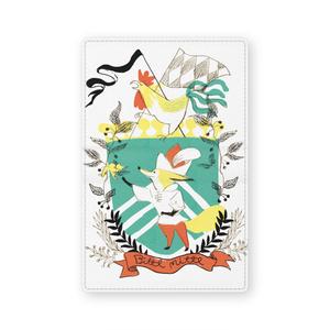 狐の紋章名刺入れ
