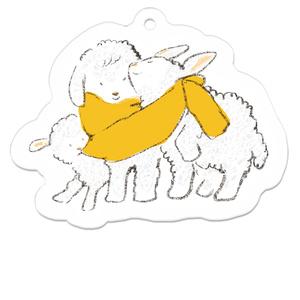 子羊キーホルダー