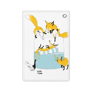 狐のパスケース