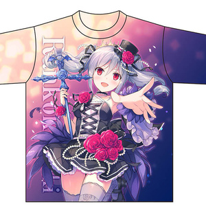 アニバーサリー蘭子ちゃんフルグラTシャツ(XL)
