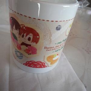 ロヴィ菊マグカップ