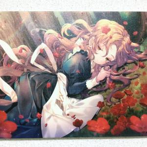 赤い花|キャンバスプリント