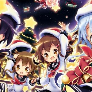 第六駆逐隊プレイマット(クリスマスver)