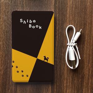 柴犬スケッチブックのモバイルバッテリー