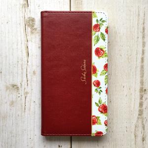 ワイルドストロベリーの手帳型スマホケース