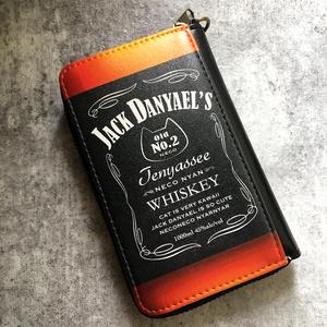 【7colors】ウイスキー&ビールにゃんこのコインケース