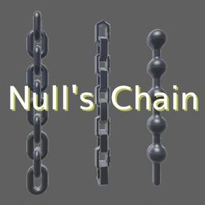【VRC向けアクセサリ】Null's Chain