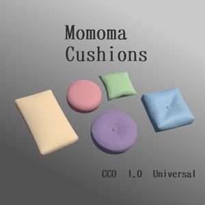 【CC0】Momoma Cushions