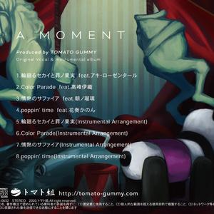 アシノ/オリジナルアルバムCD「A MOMENT」