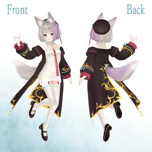 【VRC向けアバター】京狐