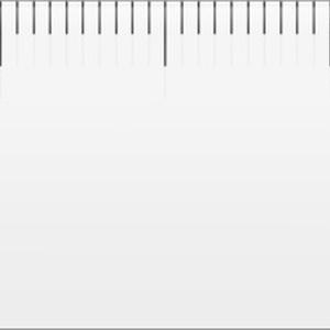 印刷サイズ確認用定規