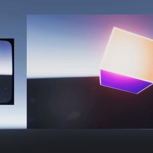 CRT LCD Unity Shader