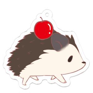 アクリルキーホルダー りんご