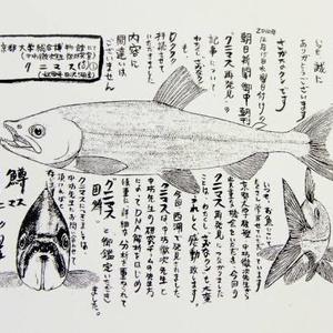 幻の魚は生きていた(中学1年)