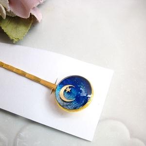 ヘアピン 青の月