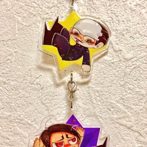 【鯉鶴】つながるキーホルダー