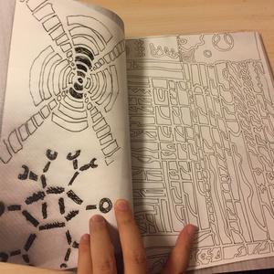 画集『テレフォン・ミステリー・ドローイング ~電話後、机上に出現している謎の絵を求めて~』