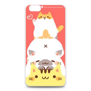 ねこたわーiPhone6 Plusケース