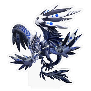 アクリルフィギュア【Monochrome and blue】