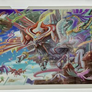 ドラゴン A4クリアファイル