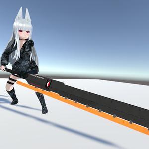 Anti-Material Heat Blade (対物ヒートブレード)