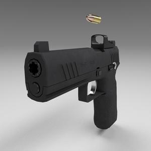 9mm自動式拳銃 XH-9