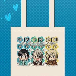 勇利&ヴィクトル&ユリオ肩掛けトートバッグ4