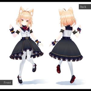 オリジナル3Dモデル「リナリィ・ココ」