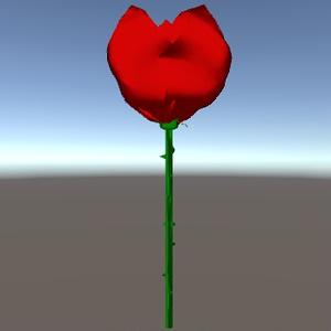 はんどめいど薔薇