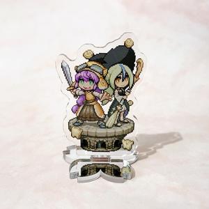 【桜祐】「お菓子の魔女と泣き虫剣士」ドットアクリルスタンド
