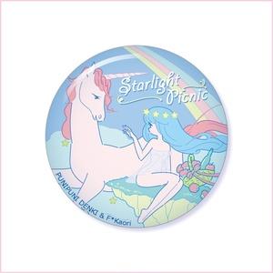 缶バッジ「starlight picnic」ぷにぷに電機コラボ