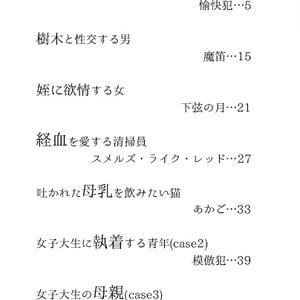 【創作文芸】Fetishism ver1.0.1