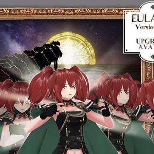 【VR アバター】オリジナル3Dモデル「Eulalia_v2」