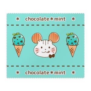 chocolate*mint メガネ拭き