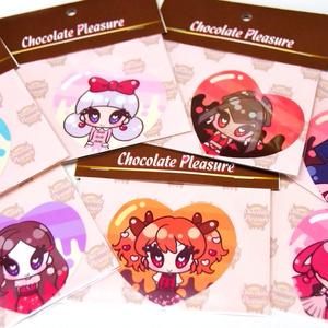 (匿)Chocolate Pleasureステッカーセット