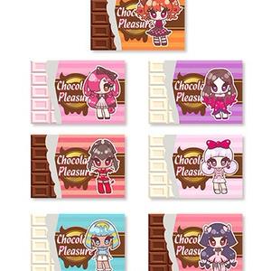 Chocolate Pleasureチョコステッカーセット