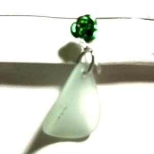 イヤリング緑