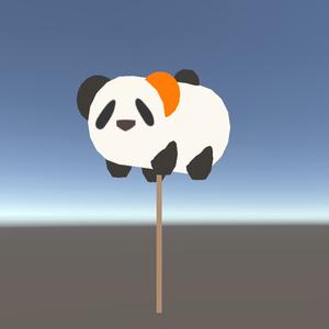 【3Dモデル】ぱんだハンマー