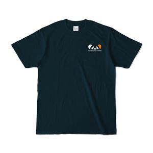 ききょうぱんだTシャツ(ネイビー)