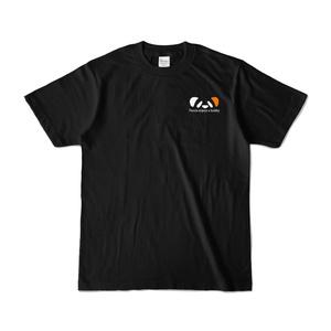 ききょうぱんだTシャツ(ブラック)