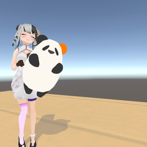 【3Dモデル】ぱんだのぬいぐるみ