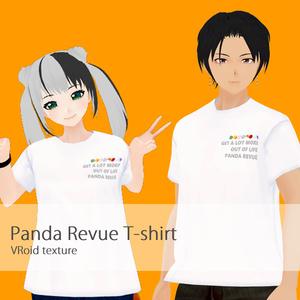 【ぱんだ歌劇団】VRoidテスクチャ オリジナルTシャツ(無料)