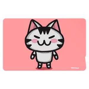 ボンcolorのICカードステッカー(ピンク)