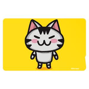 ボンcolorのICカードステッカー(黄色)